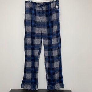 EUC US Polo Assn. Fleece Lounging Pants XL